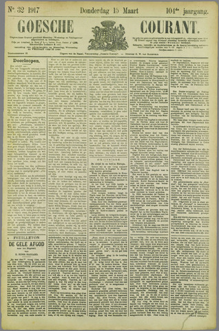 Goessche Courant 1917-03-15
