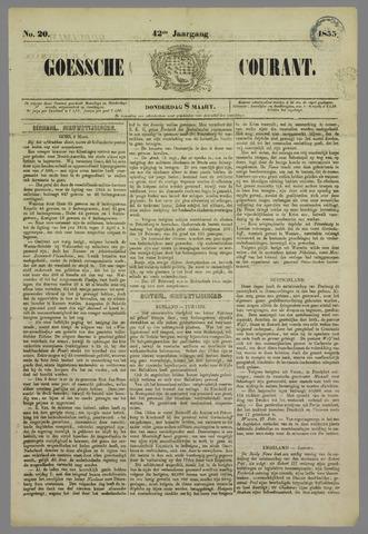 Goessche Courant 1855-03-08