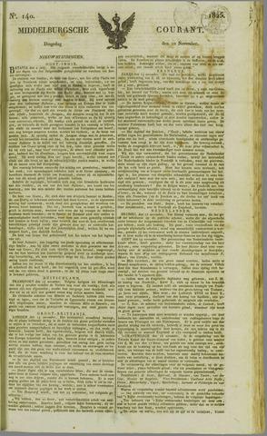 Middelburgsche Courant 1825-11-22