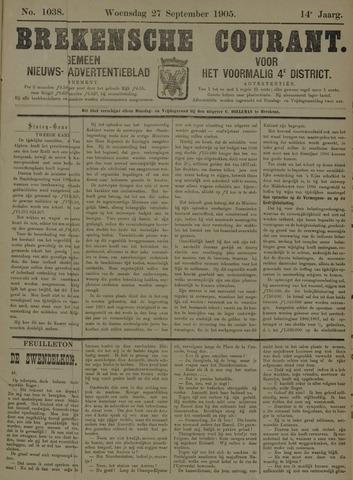 Breskensche Courant 1905-09-27