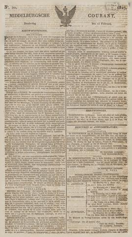Middelburgsche Courant 1827-02-15