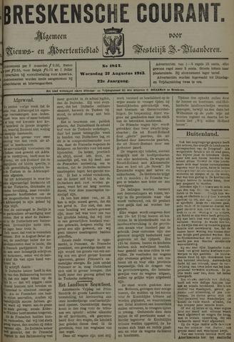 Breskensche Courant 1913-08-27