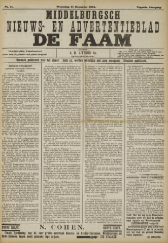 de Faam en de Faam/de Vlissinger 1904-12-21