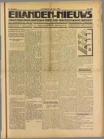Eilanden-nieuws. Christelijk streekblad op gereformeerde grondslag 1935-07-20