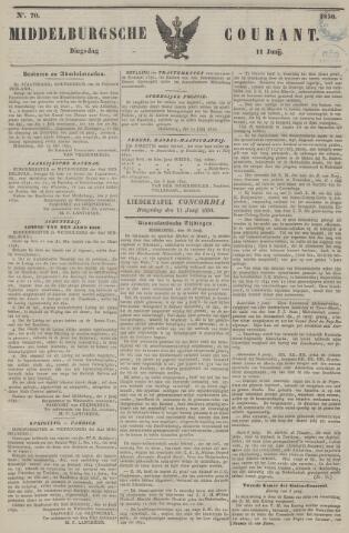 Middelburgsche Courant 1850-06-11