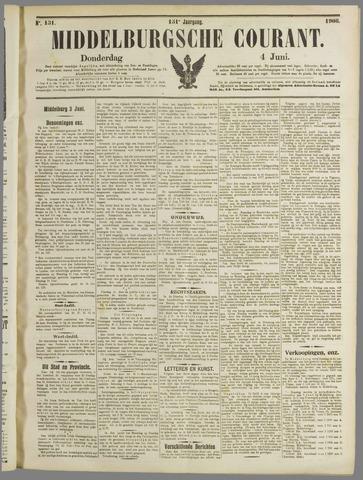 Middelburgsche Courant 1908-06-04