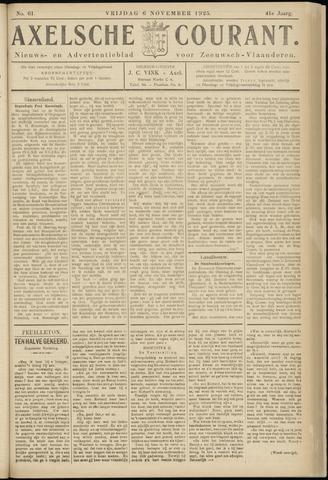 Axelsche Courant 1925-11-06