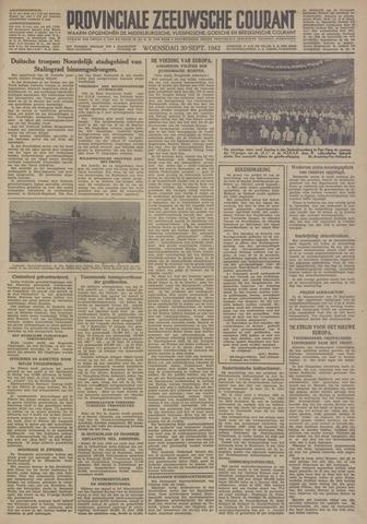 Provinciale Zeeuwse Courant 1942-09-30