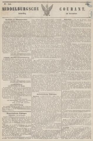 Middelburgsche Courant 1850-11-30
