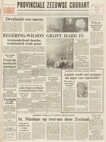 Provinciale Zeeuwse Courant 1967-11-20