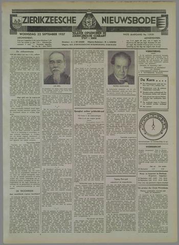 Zierikzeesche Nieuwsbode 1937-09-22