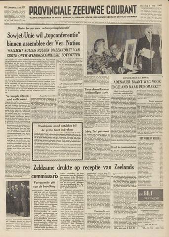 Provinciale Zeeuwse Courant 1960-08-02