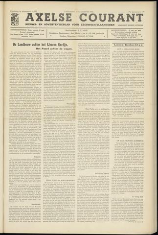 Axelsche Courant 1962-08-18