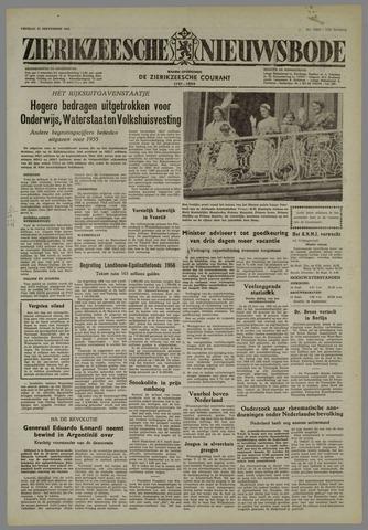 Zierikzeesche Nieuwsbode 1955-09-23