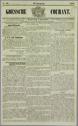 Goessche Courant 1859-09-01