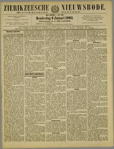 Zierikzeesche Nieuwsbode 1902-01-09