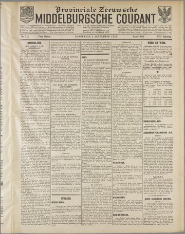 Middelburgsche Courant 1932-09-08