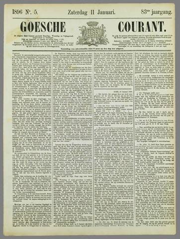 Goessche Courant 1896-01-11