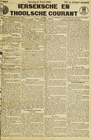 Ierseksche en Thoolsche Courant 1920-03-06