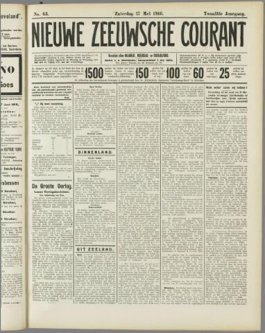 Nieuwe Zeeuwsche Courant 1916-05-27