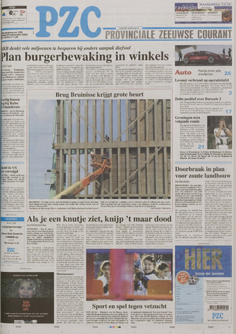 Provinciale Zeeuwse Courant 2006-09-29