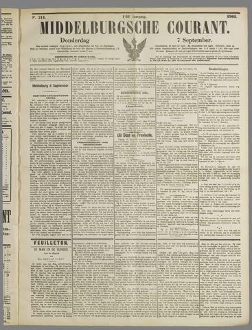 Middelburgsche Courant 1905-09-07