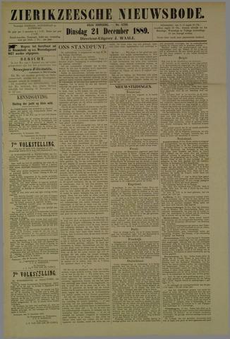 Zierikzeesche Nieuwsbode 1889-12-24