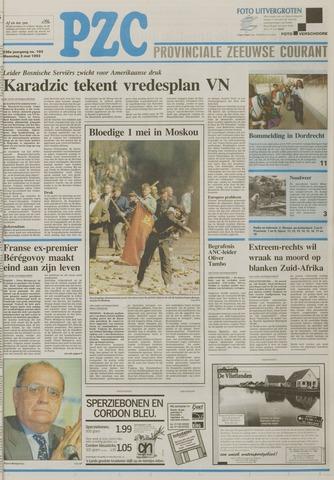 Provinciale Zeeuwse Courant 1993-05-03