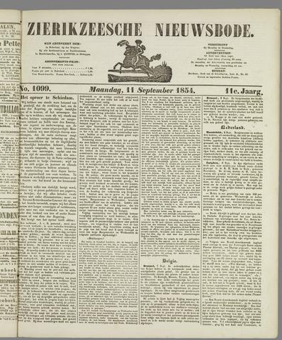 Zierikzeesche Nieuwsbode 1854-09-11