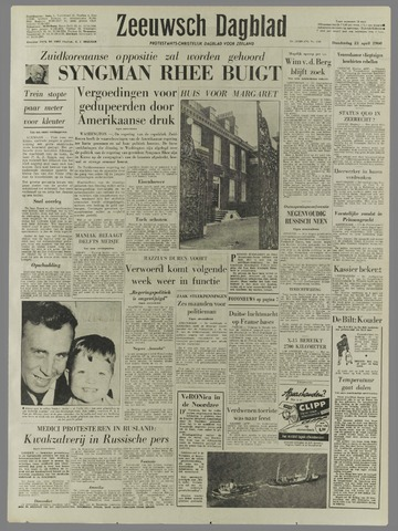 Zeeuwsch Dagblad 1960-04-21