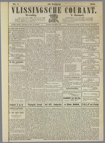 Vlissingse Courant 1905