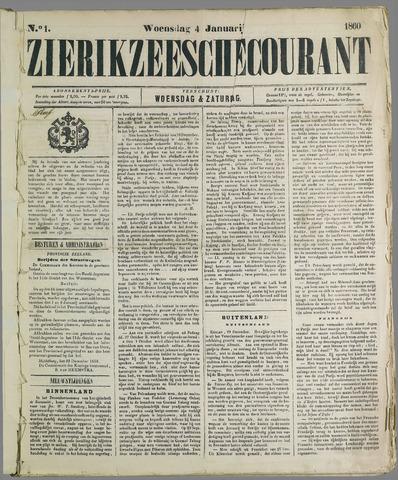 Zierikzeesche Courant 1860