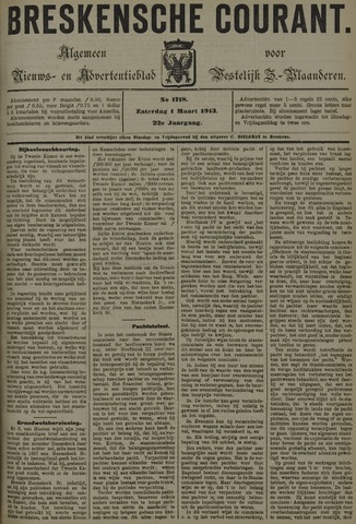 Breskensche Courant 1913-03-01