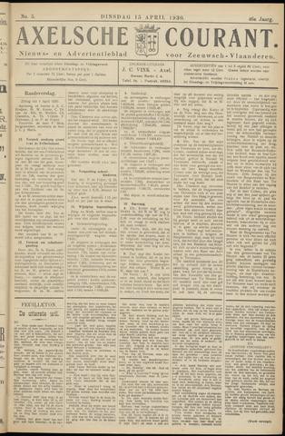 Axelsche Courant 1930-04-15