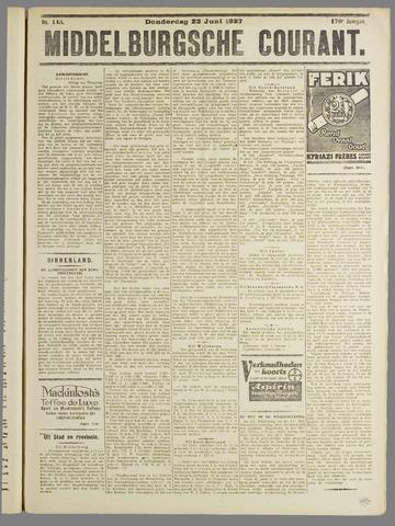 Middelburgsche Courant 1927-06-23