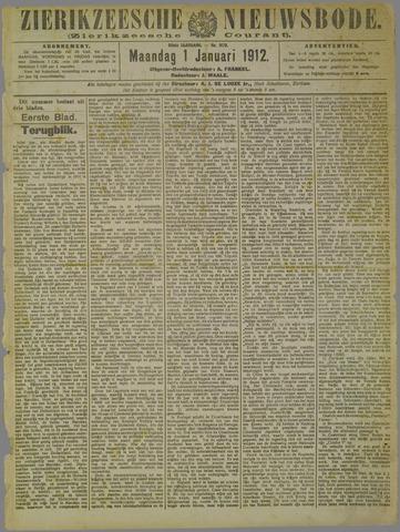 Zierikzeesche Nieuwsbode 1912