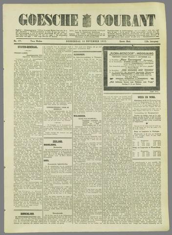 Goessche Courant 1932-11-10