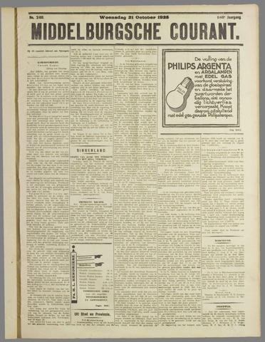 Middelburgsche Courant 1925-10-21