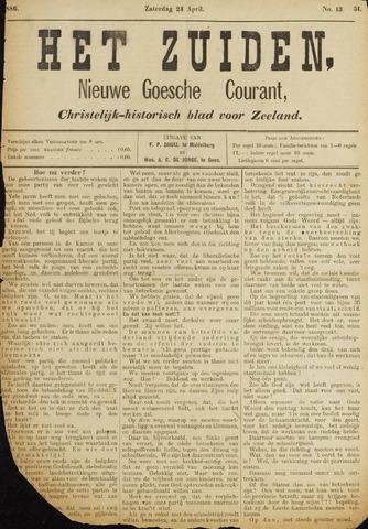 Het Zuiden, Christelijk-historisch blad 1886-04-24