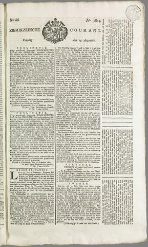 Zierikzeesche Courant 1814-08-19