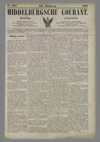 Middelburgsche Courant 1888-09-01
