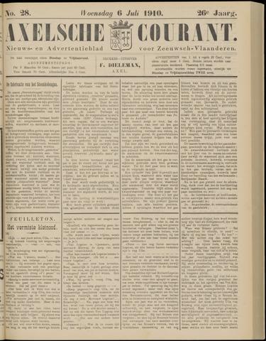 Axelsche Courant 1910-07-06