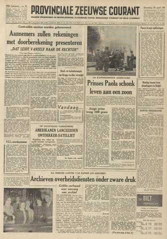 Provinciale Zeeuwse Courant 1960-04-16