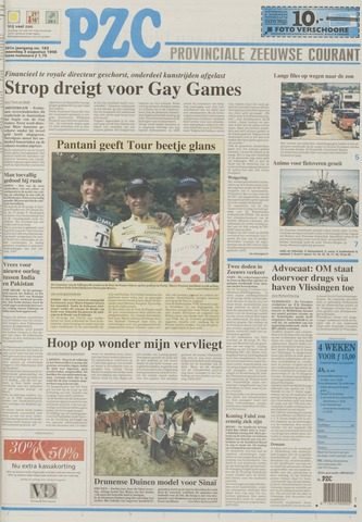 Provinciale Zeeuwse Courant 1998-08-03