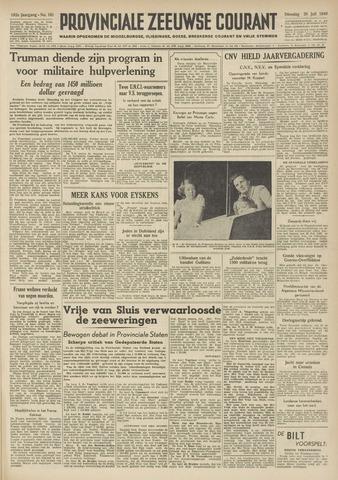 Provinciale Zeeuwse Courant 1949-07-26