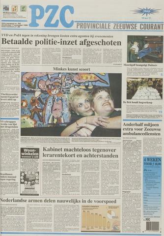 Provinciale Zeeuwse Courant 1999-11-11
