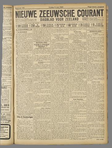Nieuwe Zeeuwsche Courant 1923-06-08