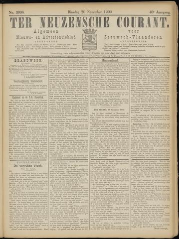 Ter Neuzensche Courant. Algemeen Nieuws- en Advertentieblad voor Zeeuwsch-Vlaanderen / Neuzensche Courant ... (idem) / (Algemeen) nieuws en advertentieblad voor Zeeuwsch-Vlaanderen 1900-11-20