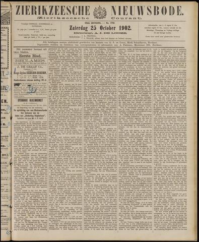 Zierikzeesche Nieuwsbode 1902-10-25
