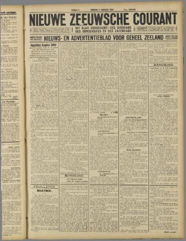 Nieuwe Zeeuwsche Courant 1926-02-02